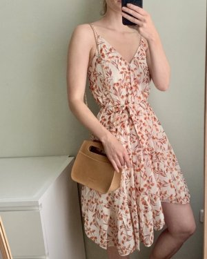 Maje Summer Dress natural white-bright red