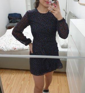 Kleid Maje neu mit Etikett blau punkte