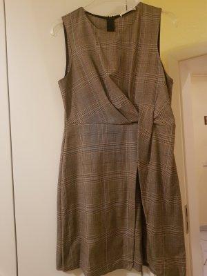 Mango Sukienka mini brązowy-beżowy