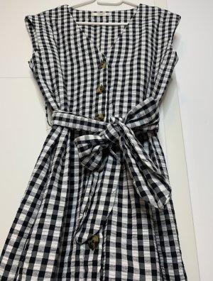 Mango Sukienka mini biały-czarny