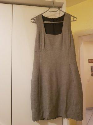 Mango Ołówkowa sukienka biały-czarny