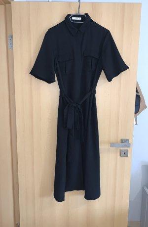 Mango Koszulowa sukienka czarny