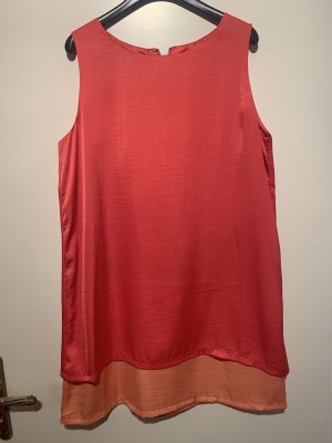 Kleid Mango Orange Rot L