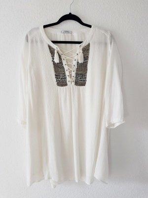 Kleid Mango Weiß Gr. L