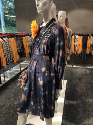 Kleid MarcCain aus Seidenmischung