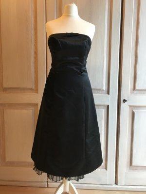 Kleid Mariposa Abendkleid Abiball 34 schwarz Bustierkleid 70 Umfang Cocktailkleid