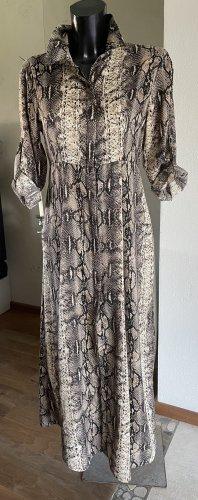 Kleid Maxi Gr. 36/S Animal Print- Neu-