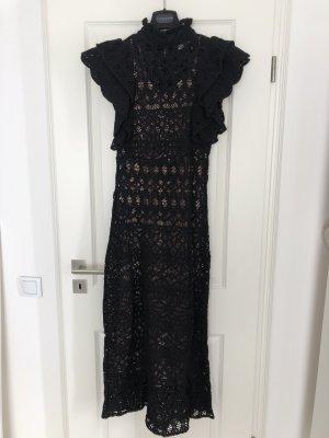 Kleid Maxi von Zara  , Gr.M , schwarz