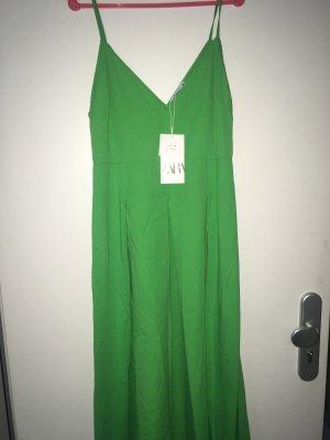 Kleid Maxi Zara Gr L Neu apfelgrün