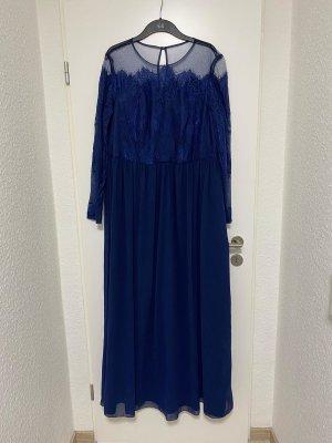 Chi Chi London Maxi Dress blue mixture fibre