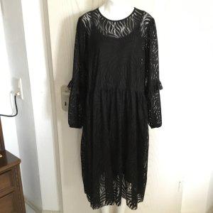 Kleid Maxikleid langes Kleid hochwertig elegant voll Spitze von YAS in M / L