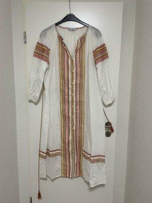 Kleid Maxikleid langes Kleid hochwertig mit Stickerei von ZARA in L wNEU