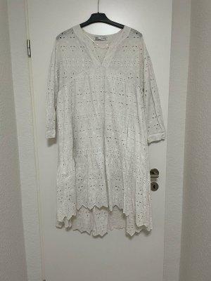 Kleid Maxikleid langes Kleid hochwertig mit Stickerei von ZARA in XL wNEU