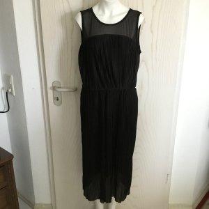Kleid Maxikleid langes Kleid Oberteil komplett plissiert von C&A in M