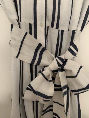 Kleid Maxikleid Leinenkleid Sommerkleid maritim Zara Hemdblusenkleid