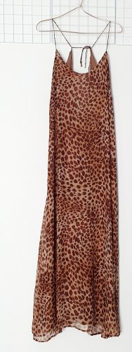 Kleid Maxikleid von Pedro del Hierro Seide gr. 40