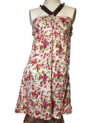 Sukienka z gorsetem Wielokolorowy
