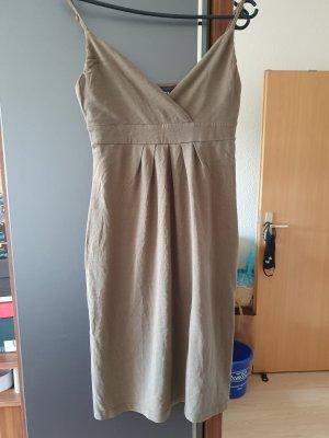 Mexx Sukienka bez ramiączek beżowy
