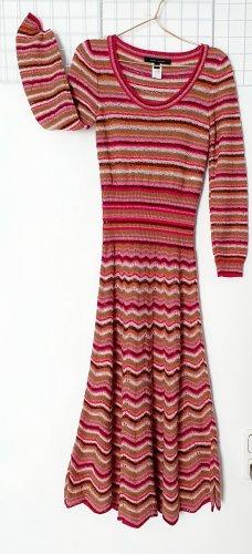 Marc Jacobs Midi-jurk veelkleurig Zijde