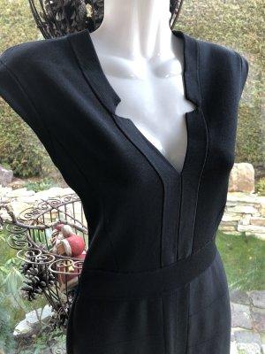 Barbara Schwarzer Robe stretch noir