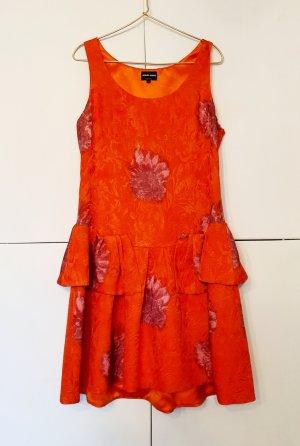 Kleid Midi von Giorgio Armani gr. 40 Seide