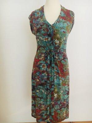 Esprit Robe mi-longue multicolore tissu mixte
