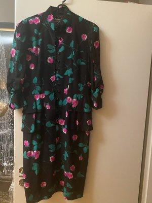 Kleid Midikleid L 40 Seide