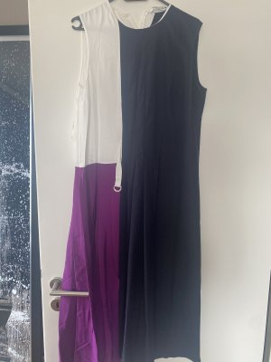Kleid Midikleid M 38 lila blau