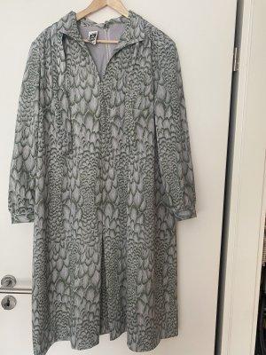 Kleid Midikleid Maxikleid XXL grün