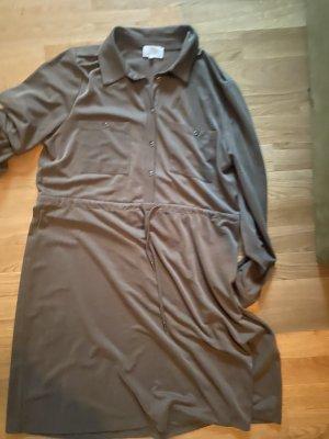 Kleid Midikleid XL khaki grün