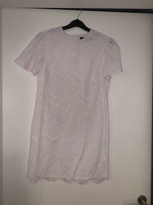 Kleid Midikleid Zara weiß 36 S
