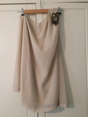 Vero Moda Robe asymétrique beige clair-vieux rose