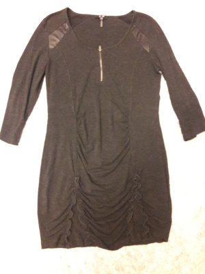 Yest Jersey Dress anthracite polyester