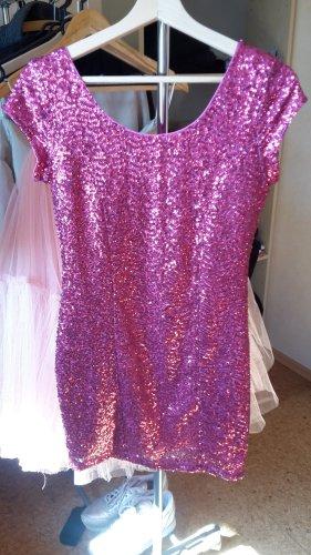 Kleid Minikleid Paillettenkleid