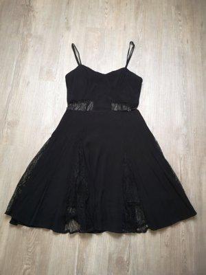 Robe découpée noir