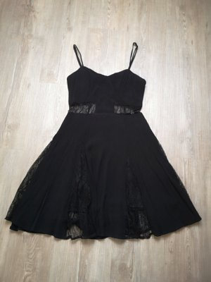 Cut Out Dress black