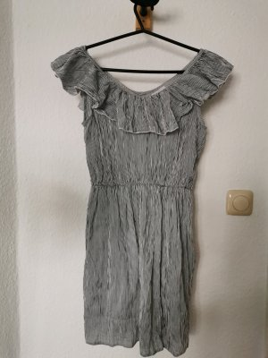 Compañia Fantastica Off-The-Shoulder Dress white-black