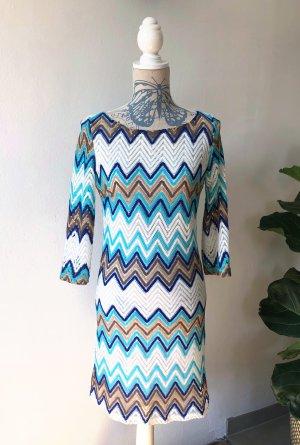 Kleid Missoni Muster Blau