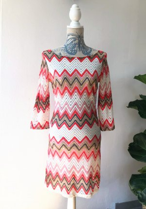 Kleid Missoni Muster Rot
