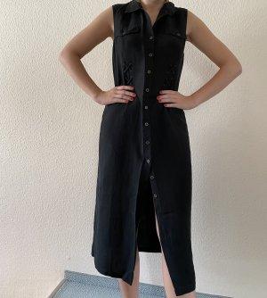 Kleid mit 55% Leinenanteil Gr. 40