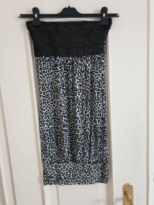 Kleid mit Animalprint, Gr. M