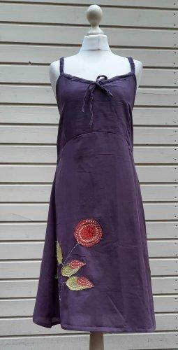 Sukienka plażowa szaro-fioletowy