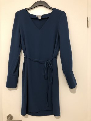 H&M Empire Dress petrol