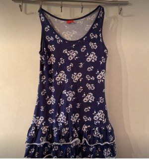 CFL Beach Dress dark blue-white
