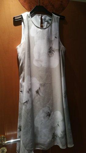 Andrew Marc New York Robe trapèze blanc-gris clair