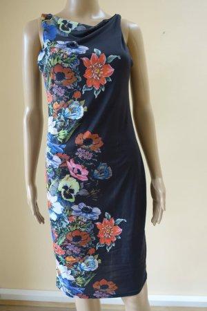Kleid mit Blumenmotiv Sommerkleid Abendkleid