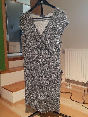 Charles Vögele Shortsleeve Dress white-dark blue