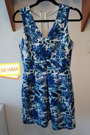 H&M Vestido cut out multicolor