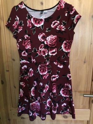 Kleid mit Blumenmuster Gr.38 H&M