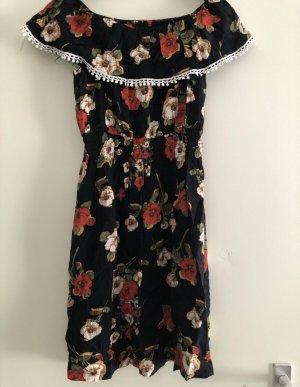 Kleid mit Blumenmuster gr.S